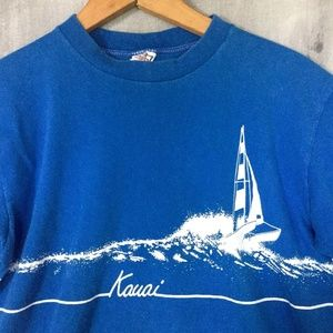 Vintage 80s Crazy Shirts Hawaii Kauai T-Shirt VSCO